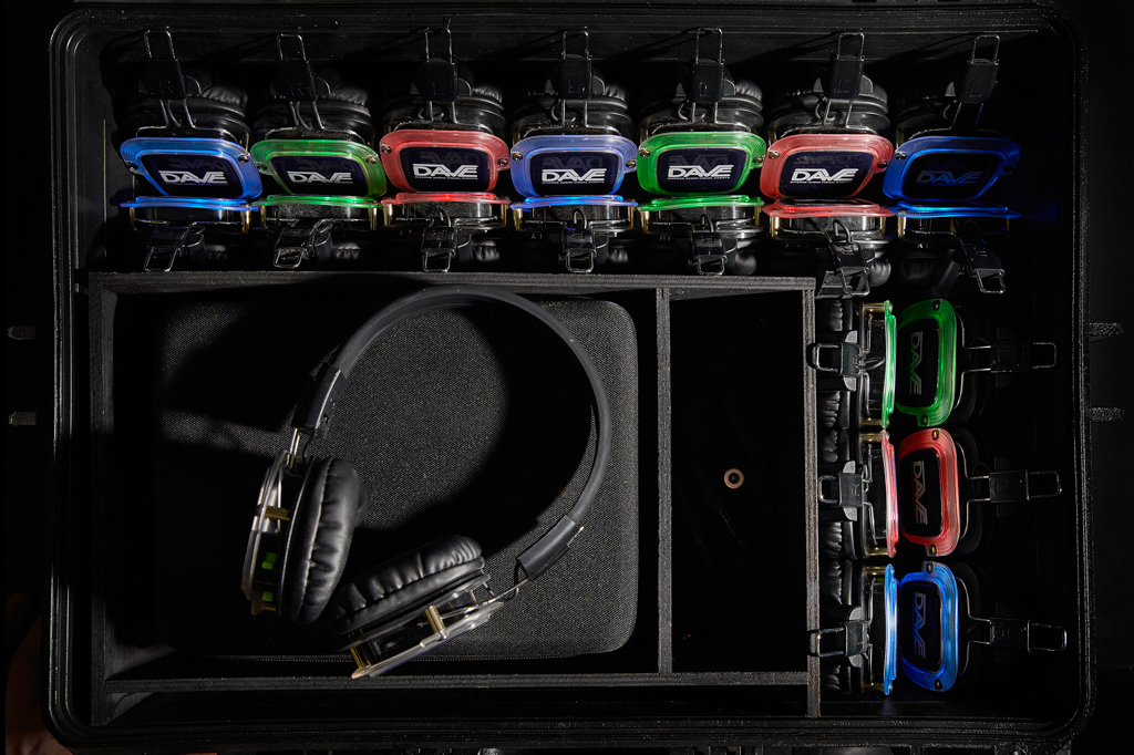 Silent-disco-headset